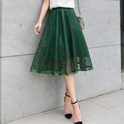 """EMS adult flared skirt and chic """"lace"""""""