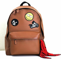 ☆COACHxDISNEY☆CHARLES  BACKPACK IN PATCHWORK LEATHER