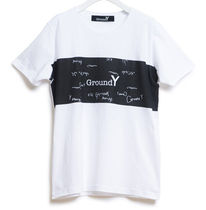 GroundY/ 手書きグラフィクカットソー Tee