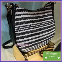 【kate spade】SALE★爽やか!!cobble hill straw mylie★2way