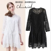 国内発送・送料関税込☆Chicwish☆ Baroque Crochet Dress
