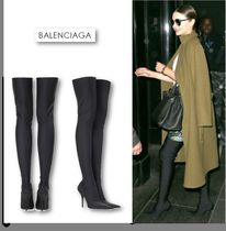 ☆ミランダ愛用☆【Balenciaga】Knife over-the-knee boots♪