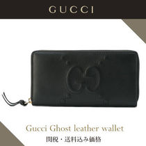☆関税・送料込み★Gucci Ghost leather wallet