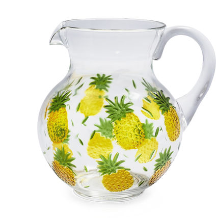 Seurat table pitcher pineapple