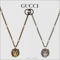 ◆GUCCI◆ライオンヘッドペンダント ネックレス*2日内発送