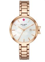 kate spade (ケイトスペード) rose gold park row watch 12