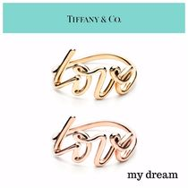 【Tiffany & Co】Paloma Picasso LOVE RING (Gold , Rose Gold)