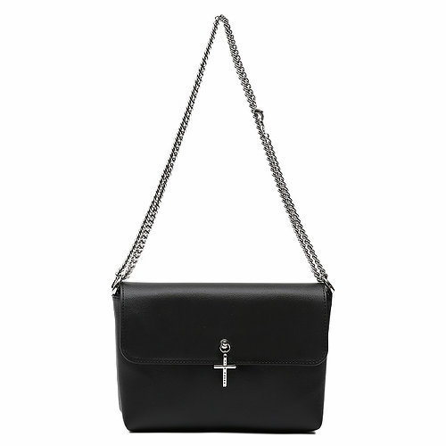SAMOONDOH 33° MINI FLAP BLACK - A CROSS★国内発送