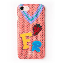 ◆Fresh Fruit◆FRFR KNIT PINK phone case