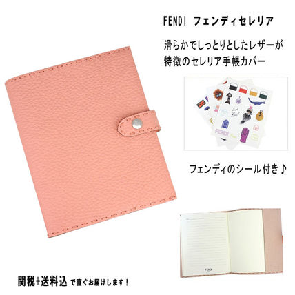 Ravished fendiceleria leather notebook cover sticker with
