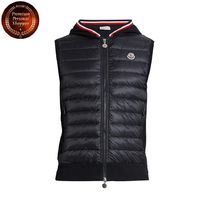 MONCLER(モンクレール) ダウンベスト 【国内発・送関込】モンクレール-Maglia knit-back down gilet