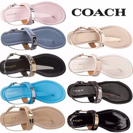 popular 9 color COACH CATERINE strap sandal