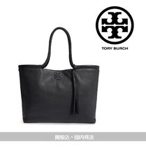 Tory Burch☆Taylor Leather Toteレザートート☆国内発&関税込