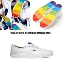 VANS★AUTHENTIC SF★BROTHERS MARSHALL★コラボ★レインボー