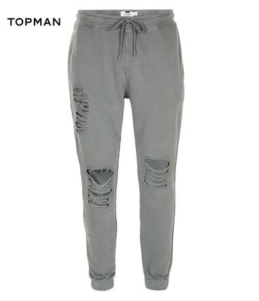 * TOPMAN * * destroy processing sweat pants nexdg