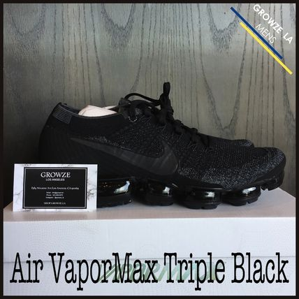 ★【NIKE】US6 24cm ナイキ NikeLab Air VaporMax Triple Black
