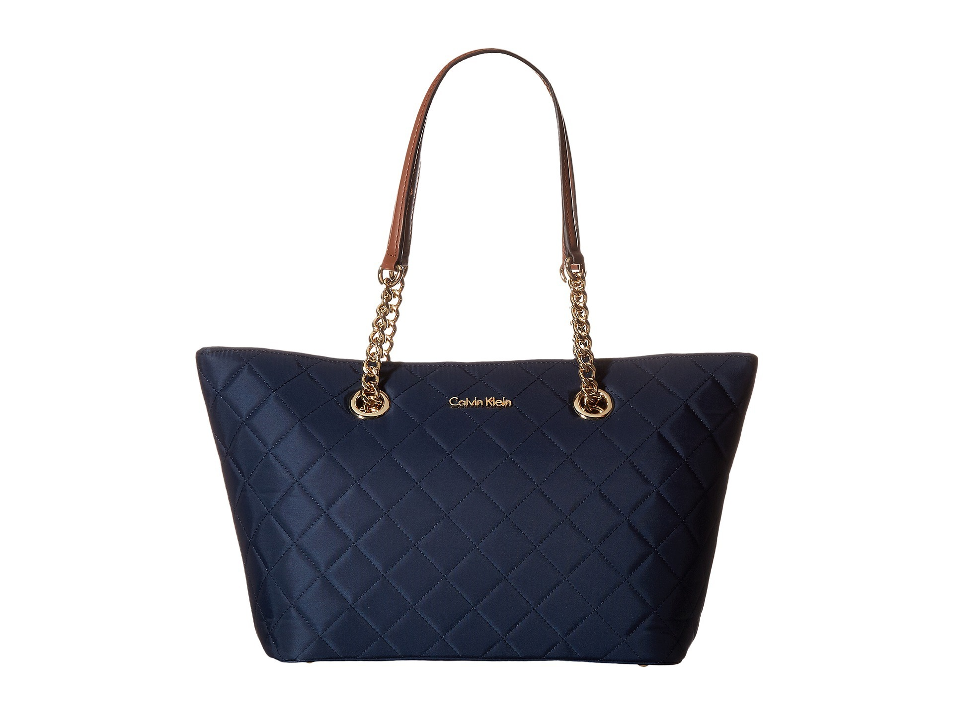 Calvin Klein Dressy Nylon Quilted Tote Handbags