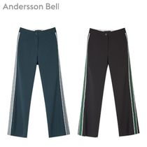 [ANDERSSON BELL] VICTORIA TAPING TROUSER apa185w 2色