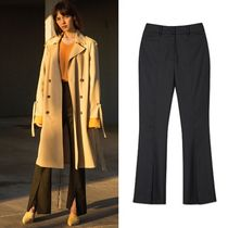 [ANDERSSON BELL正規品] NAOMI SLIT TROUSERS apa168w Black