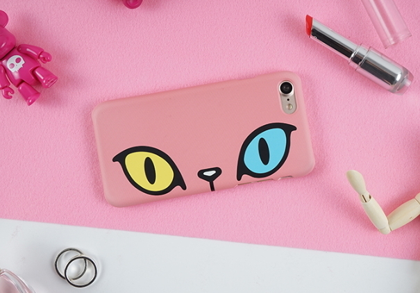 GAZE★GAZE X SAKUN Odd-eye Cat BackCover ケース -iphone 7