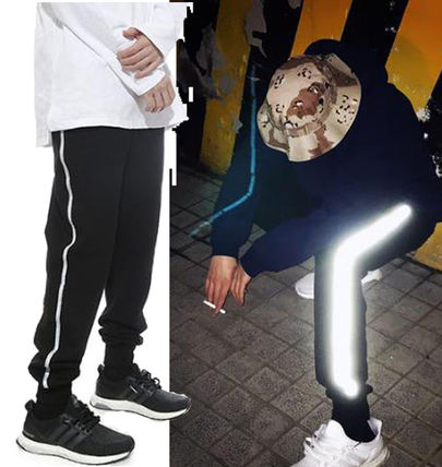 Street unique fashionable GD popular reflector jogging pants