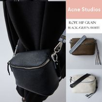 [Acne] Rope leather Hip bag グレインレザーヒップバッグ3色