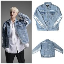 日本未入荷VIBRATEのDAMAGED DENIM JACKET