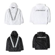 日本未入荷VIBRATEのSIMPLE SCOTCH WINDBREAK 全2色