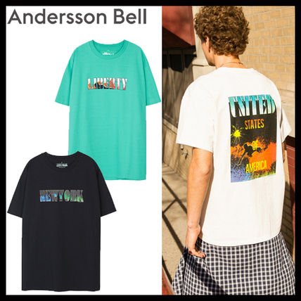 [AnderssonBell/DHL発送]UNISEX PACIFIC SURFER T-SHIRT atb147u