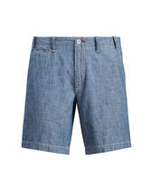 ラルフローレン Straight Cotton Chambray Short