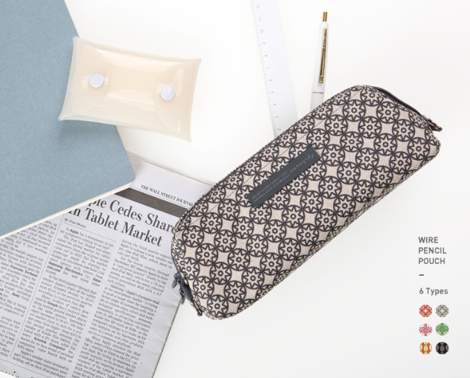 ◆monopoly◆ WIRE PENCIL POUCH 6色