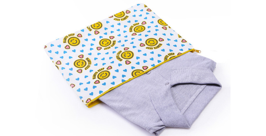 ◆monopoly◆ MERRYGRIN CLOTHES POUCH size L 4色
