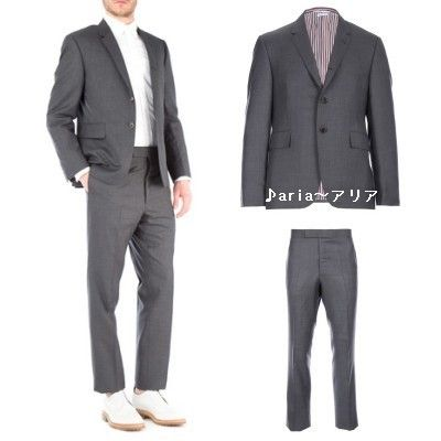 THOM BROWNE men's two piece wool suit