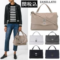 関税送料込 ZANELLATO Postina Medium Daily レザー 2way バッグ