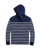 ラルフローレン Striped Cotton Jersey Hoodie