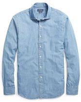 ラルフローレン Slim Fit Cotton Chambray Shirt