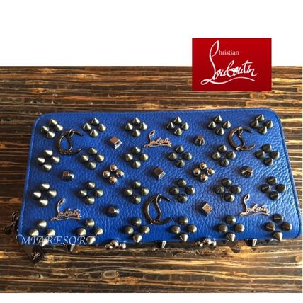 VIP sale Christian Louboutin Panettone Wallet Empire Blue