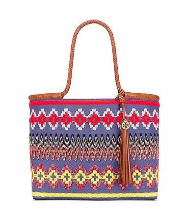 TAYLOR EMBROIDERED TOTE