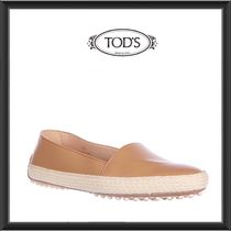 TOD'S(トッズ) スリッポン ★★TOD'S《トッズ》 LEATHER SLIP-ONE SNEAKERS 送料込み★★