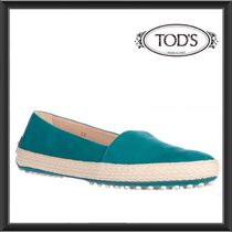 TOD'S(トッズ) スリッポン ★★TOD'S《トッズ》 SUEDE  SLIP-ONE SNEAKERS 送料込み★★