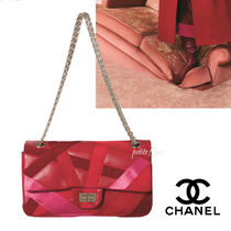 CHANEL*2017AW*雑誌掲載*ベロア×グログラン チェーン バッグ
