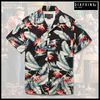 ★MUSTHAVE★「DIAFVINE」-17SS・アロハシャツーFLORAL BLACK
