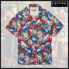 ★MUSTHAVE★「DIAFVINE」-17SS・アロハシャツ FLORAL RED&BLUE