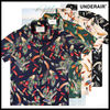 ★アロハシャツ★「UNDER AIR」- Flame of Peacock Shirts*4色