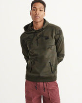 【Abercrombie&Fitch】Sports Hoodie フーディ ☆人気の迷彩☆