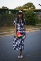 【kate spade】嬉しい再販!gingham shirt dress☆Broome Street