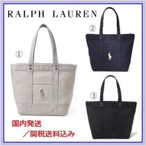 Ralph Lauren★POLO Canvas Big Pony トートバッグ 3色 国内発送