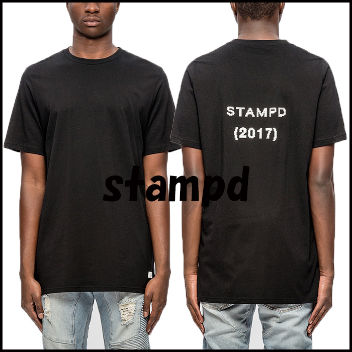 17SS 新作 STAMPD PIXELATED ロゴTシャツ