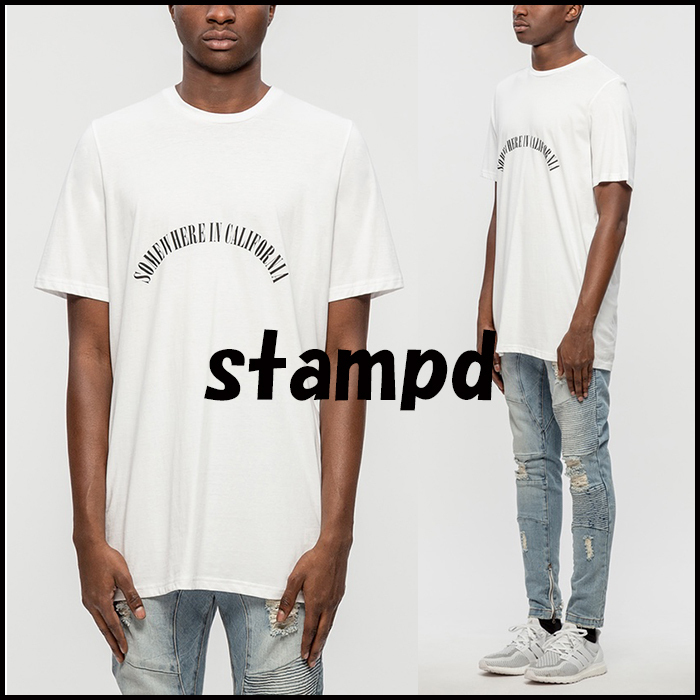 17SS 新作 STAMPD SOMEWHERE CALIFORNIA Tシャツ
