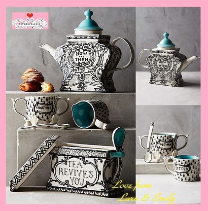 Las 1 stores sold out Anthropologie Sketched Story set:3